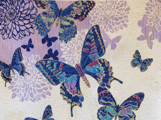 Northcott fantassia Butterfly panel 22956M